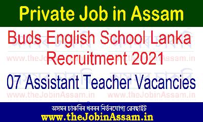 Buds English School Lanka Recruitment 2021: