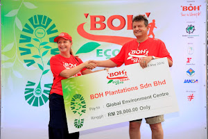Boh Eco Trail 2016 - 8KM Run (CrE)