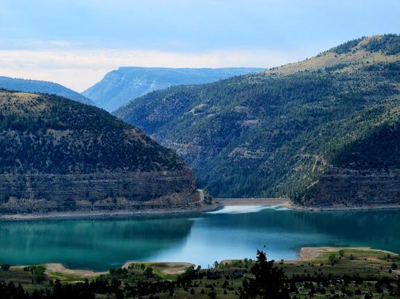 Joe's Valley Reservoir and dam