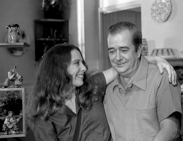 Ênio Santos e Tamara Taxman em Sétimo Sentido