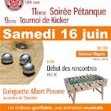 Kicker Petanque 2012