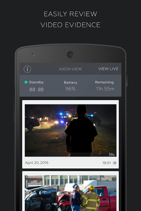 Axon View- screenshot