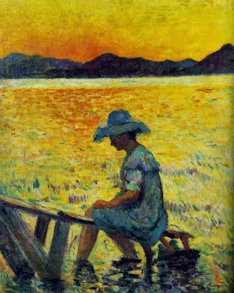 Henri-Charles Manguin - Le coucher de Soleil
