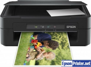 Reset Epson ME-400 printer with application