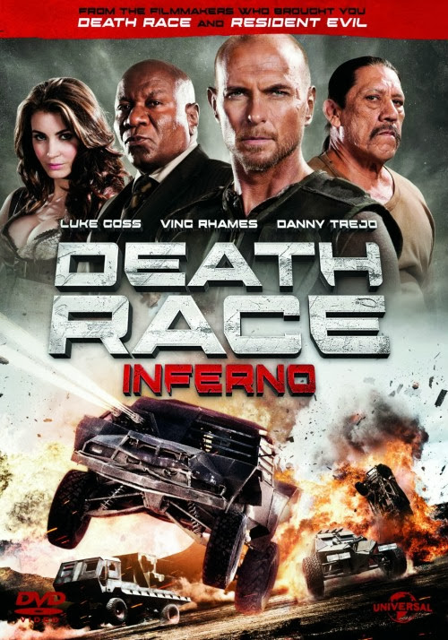 Poster Of The Death Race 3 (2013) Full Movie Hindi Dubbed Free Download Watch Online At Alldownloads4u.Com