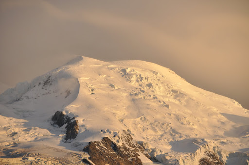 Mont Blanc at sunset