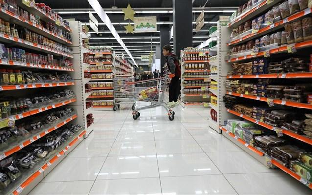 Ρεκόρ 15ετίας στις πωλήσεις των σούπερ μάρκετ το 2020