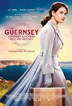 La sociedad literaria y del pastel de cáscara de papa de Guernsey (2018)