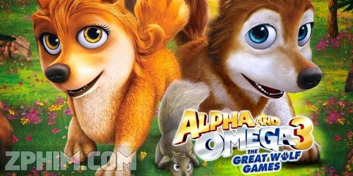 Ảnh trong phim Thủ Lĩnh Sói Xám 3: Cuộc Chơi Của Loài Sói - Alpha and Omega 3: The Great Wolf Games 1