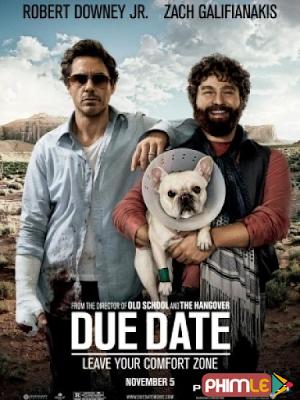 Phim Đen Đủ Đường - Due Date (2010)