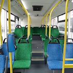 Het interieur van de Optare Solo van Syntus bus 5353 met lijn 103 naar Nunspeet via Putten