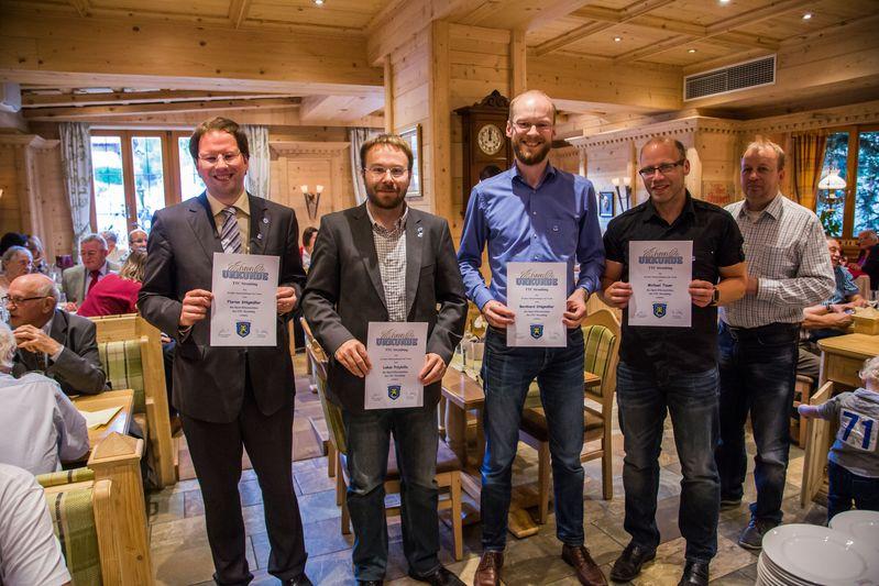 """""""70 Jahre TTC Straubing"""": Ehrung für 20-jährigen Mannschaftssport beim TTC Straubing"""