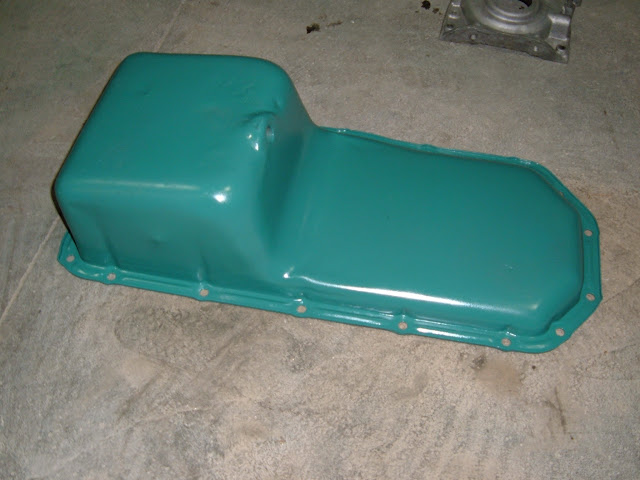 1957-1958 oil pan, same as 1959-1961 and 65-66 GS with only slight differences. Call
