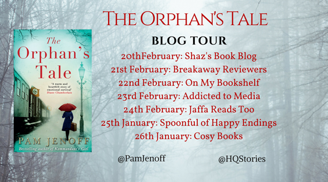 Pam Jenoff The Orphan's Tale blog tour