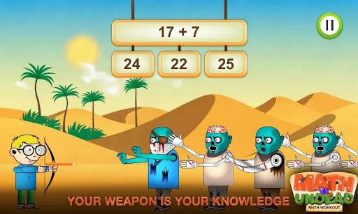 Math vs. Undead: Math Workout apkmr screenshots 9