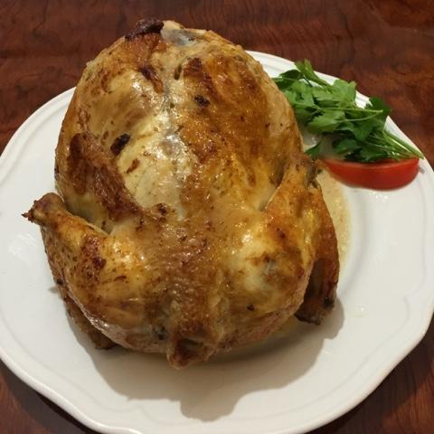 Tavuk etli yemekler, Sahra