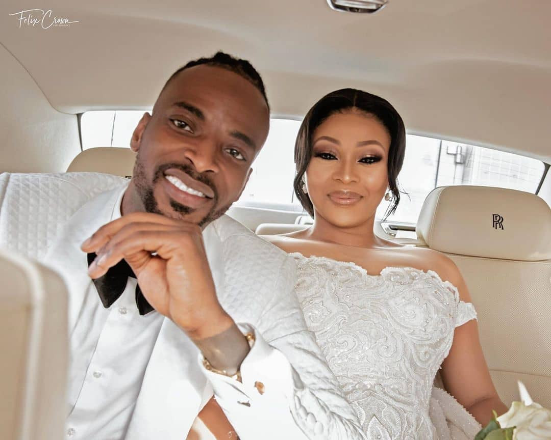 """""""Help me save my marriage""""- singer, 9ice appeals to the public to help beg his wife after video of him caressing a lady's b**bs in a hotel leaked online (video)"""