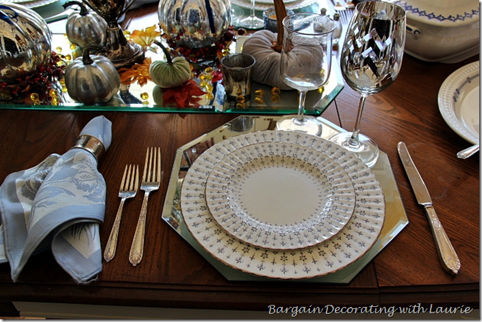 Fall Table-Paragon Heritage Dishes