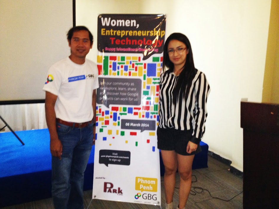 GBG, Google Business Group, Women on the Web, Technology, entrepreneurship, blogging, blogger, youtube, google, phnom penh, cambodian, khmer, sihanoukville, asia, southeast asia, international women's day