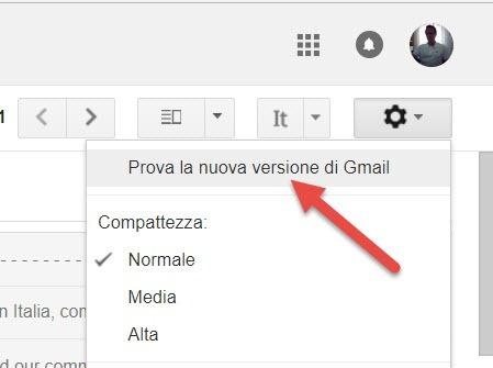 nuova gmail