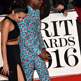 OIC - ENTSIMAGES.COM - Muz and Labrinth at the  The BRIT Awards 2016 (BRITs) in London 24th February 2016.  Raymond Weil's  Official Watch and  Timing Partner for the BRIT Awards. Photo Mobis Photos/OIC 0203 174 1069