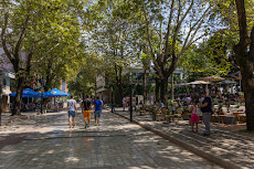 Beautiful streets and cafes in Tirana