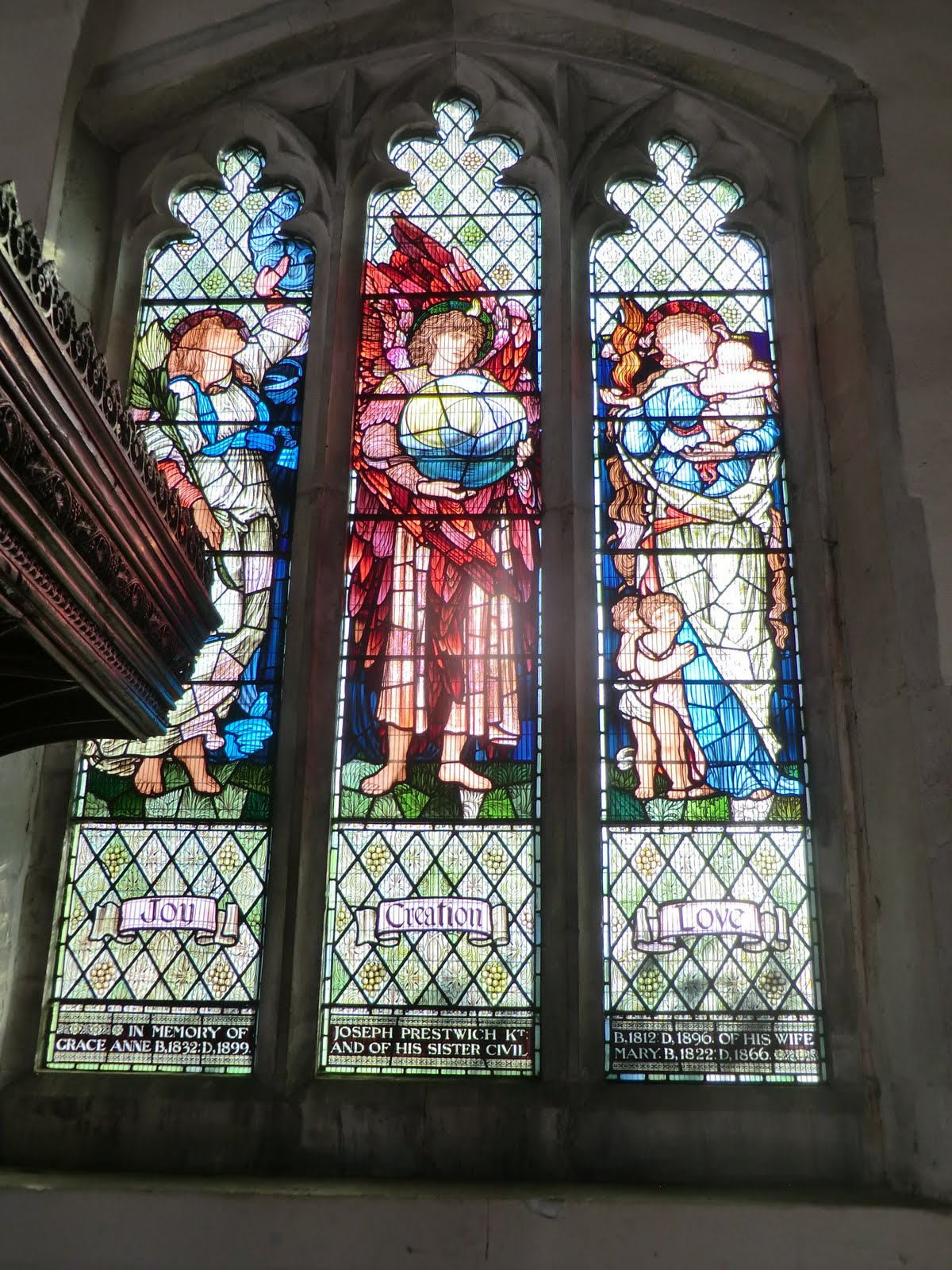 CIMG9117 Burne-Jones window, Shoreham church