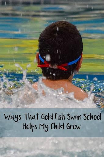 Ways That Goldfish Swim School Helps My Child Grow