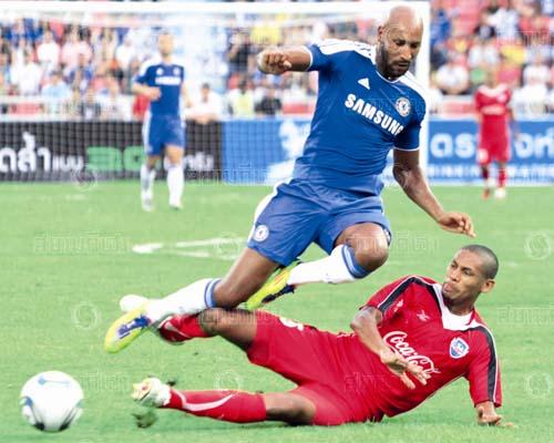 Anelka, Thailand Premierleague All Stars - Chelsea