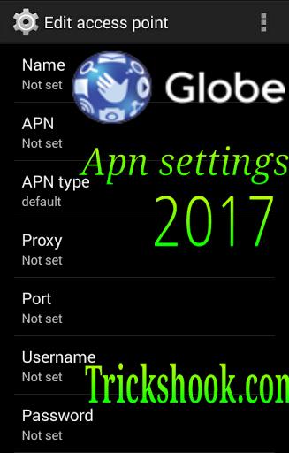 Globe Apn Settings