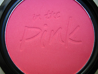 w7, in the pink, the cheek of it, blusher, pink, pink sands