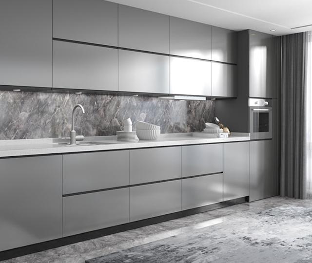 Mẫu thiết kế nội thất nhà bếp thông minh 2021