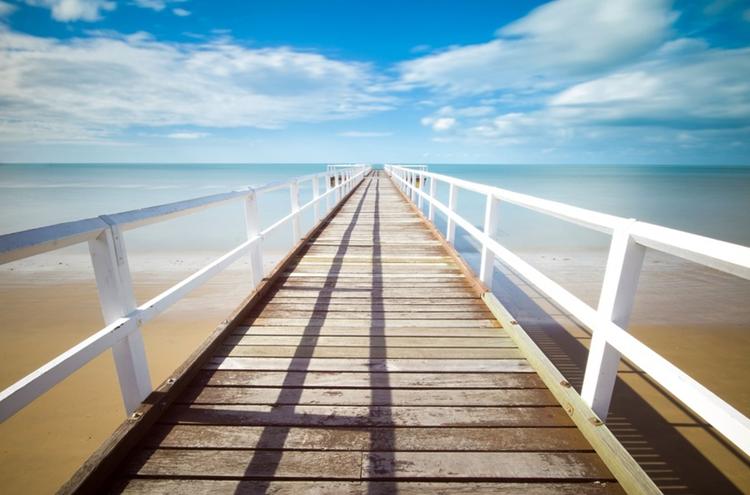 summer, verão, mar, ponte no mar