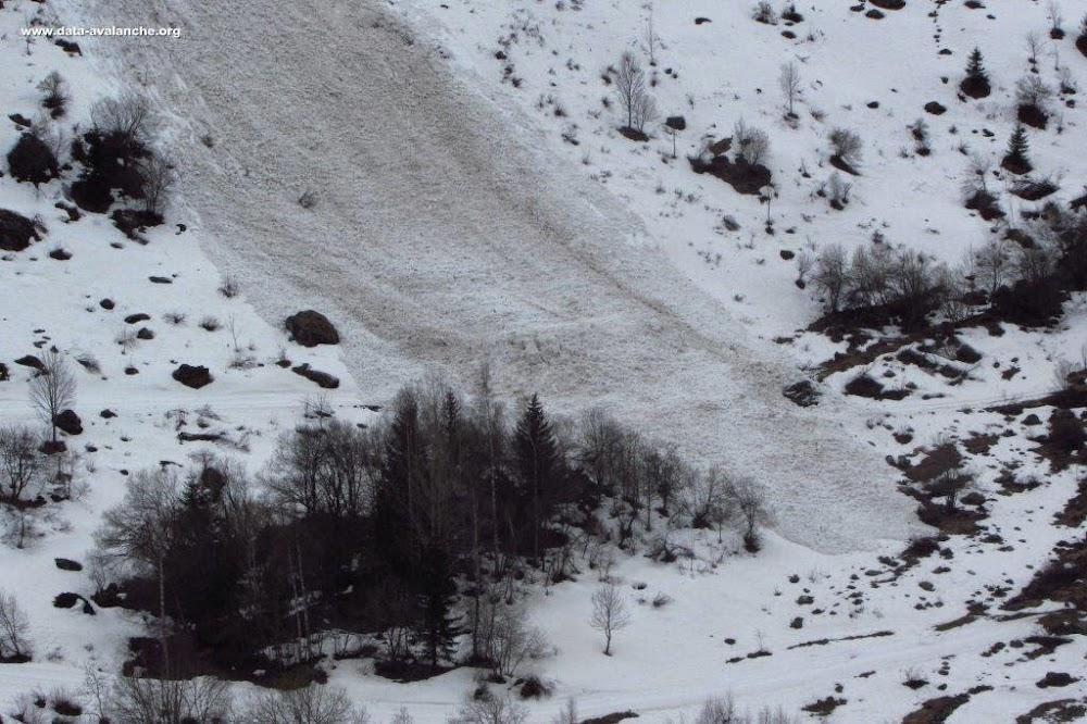 Avalanche Vanoise, secteur Grand Bec de Pralognan, Champagny-le-Haut ; Friburge ; Sur le Derrire - Photo 1