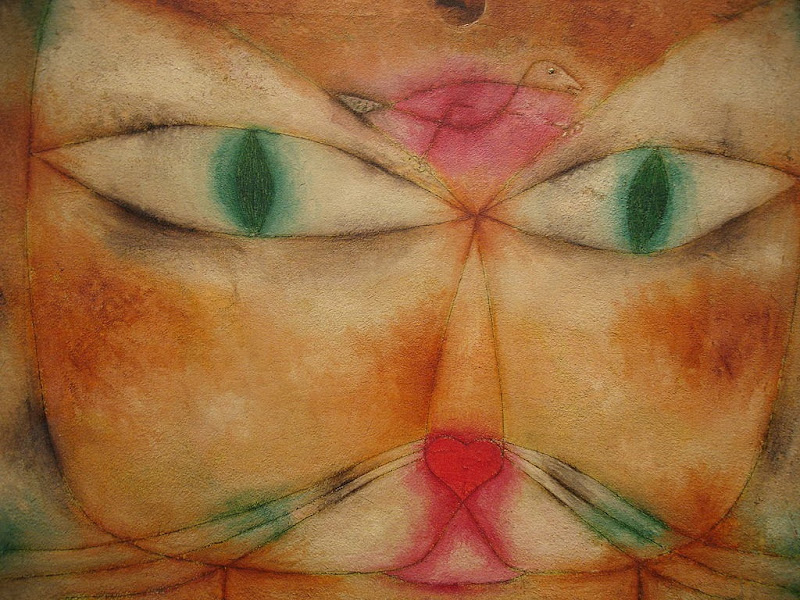 Paul Klee - Cat and Bird