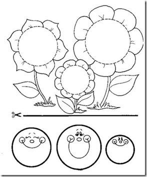 11flores primavera colorear  (7)