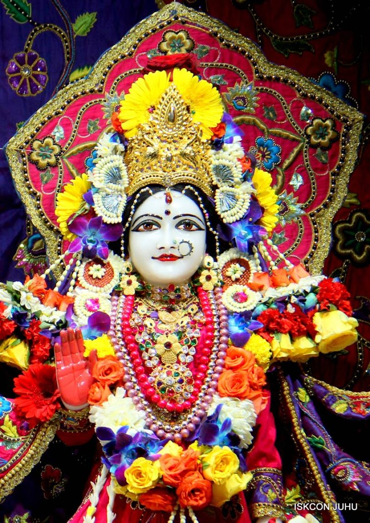 ISKCON Juhu Sringar Deity Darshan 29 Jan 2016 (37)