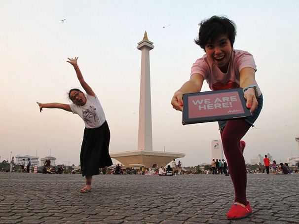 WE ARE HERE! Monas