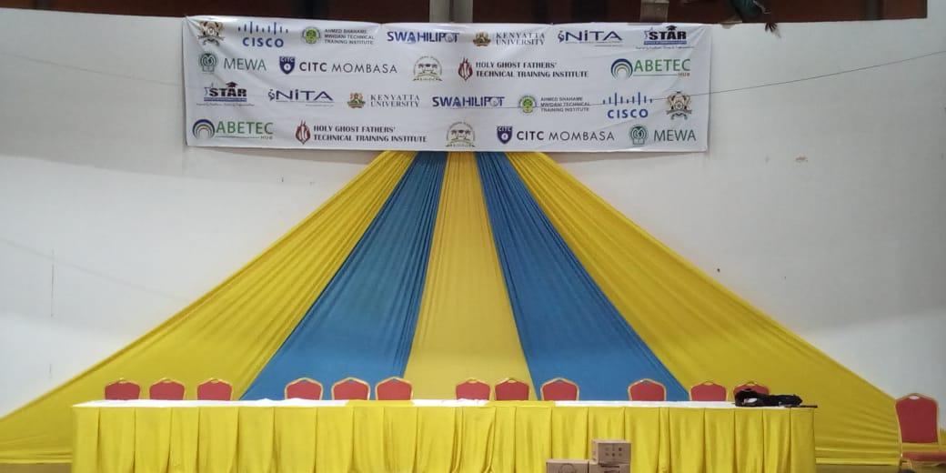 Mombasa county graduation at Bandari Maritime Academy. PHOTO | BANA