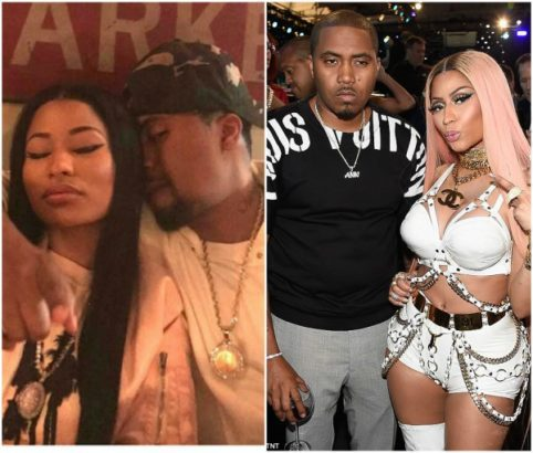 INicki Minaj & Nas Split After 7 Months Of Dating