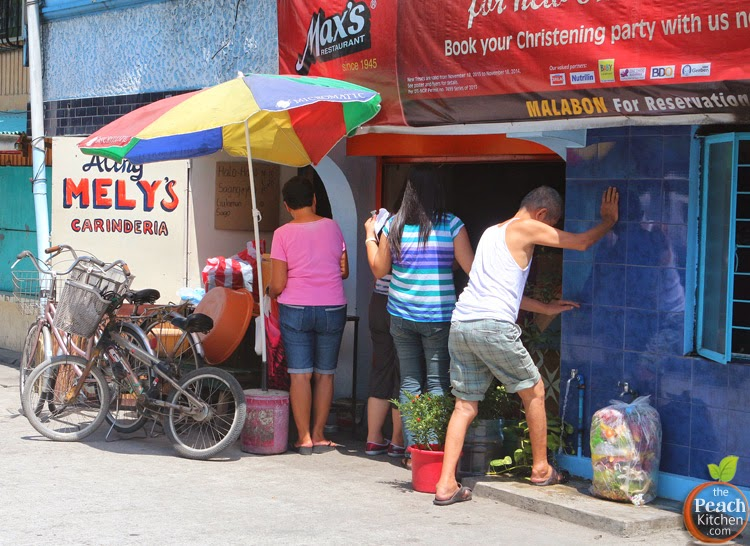 Malabon Food Tour Part 1: Aling Mely's Carinderia