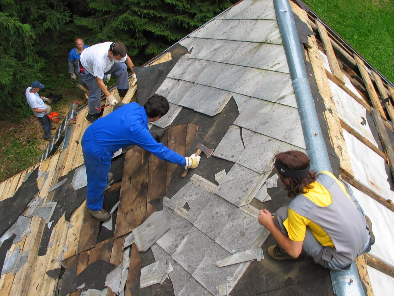 Delovna akcija - Streha, Črni dol 2006 - streha%2B051.jpg