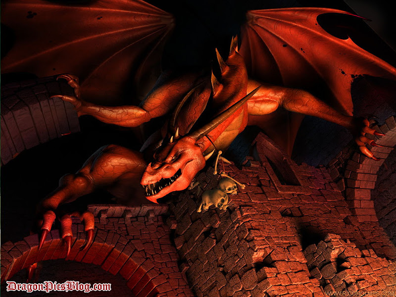 Red Underworld Dragon, Dragons
