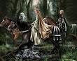 Elf Princess With A Retinue