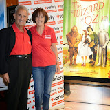 WWW.ENTSIMAGES.COM -  Tony Alexander and Glendale Shiner   at     The Wizard of Oz in IMAX 3D - charity film screening at The Empire Cinema London September 14th 2014Chairty film screening of classic film in aid of children's charity Variety.                                                 Photo Mobis Photos/OIC 0203 174 1069