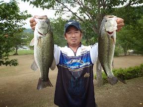 2位 鶴岡克芳選手