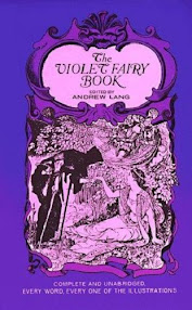 Cover of Andrew Lang's Book The Violet Fairy Book