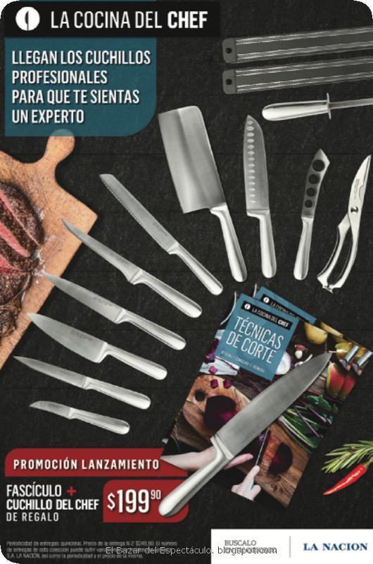 Precio y periodicidad la cocina del chef con cuchillos for Coleccion cuchillos el mundo