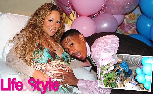 Pix N Pix Inside Mariah Careys Lavish Baby Shower