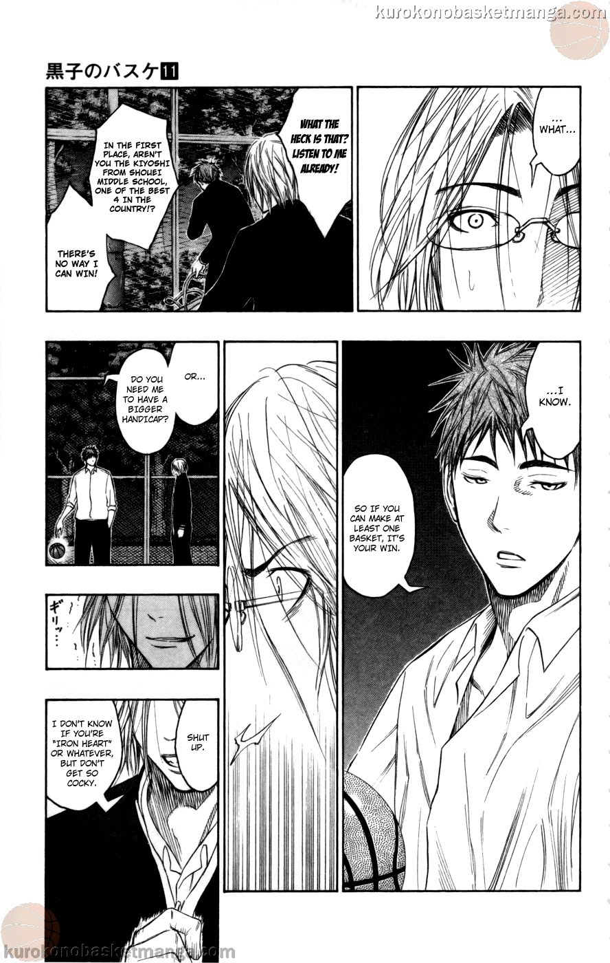 Kuroko no Basket Manga Chapter 96 - Image 13